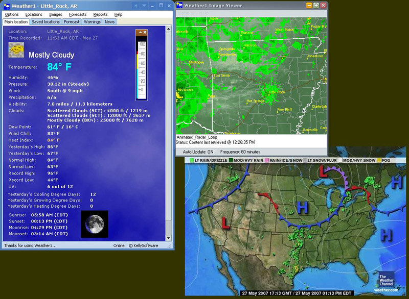 Weather1 Screen shot